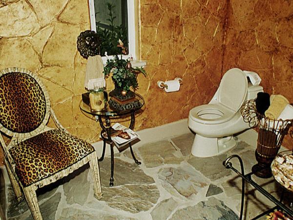 An Affordable, Durable Bathroom Floor